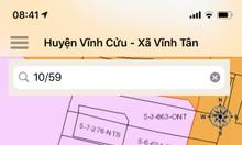 Đất mặt tiền Tỉnh Lộ 767 Xã Vĩnh Tân, Vĩnh Cửu, tiện KD hoặc phân lô