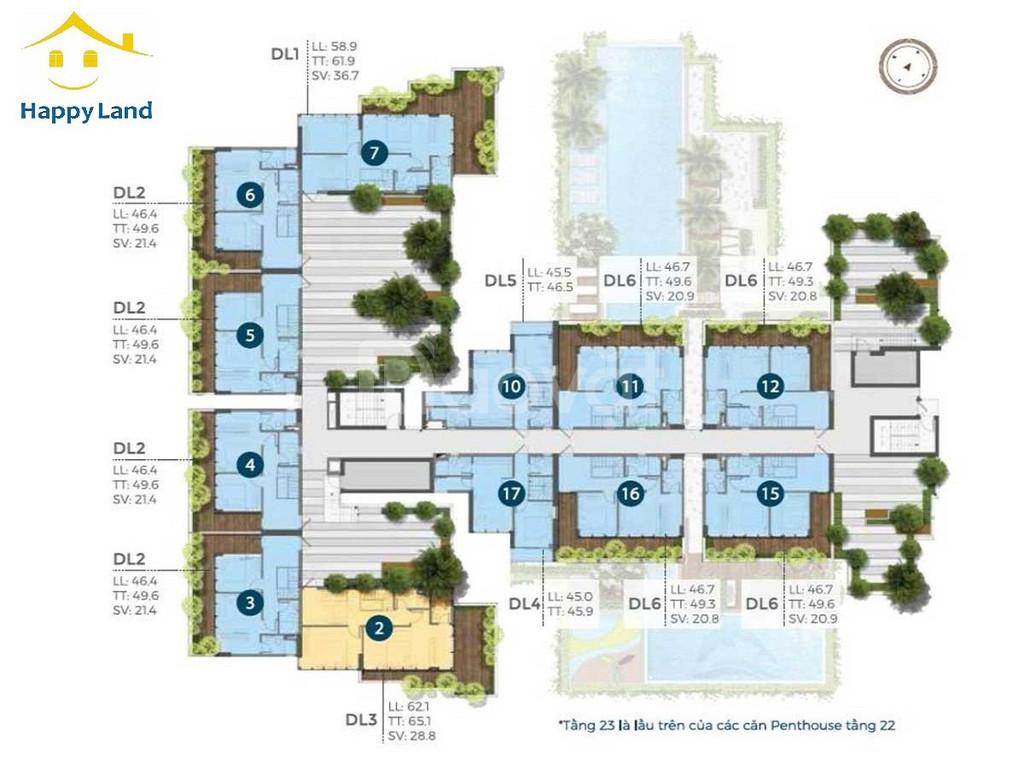 Giữ chỗ căn hộ PreciA ngay trung tâm quận 2 số lượng giới hạn (ảnh 3)