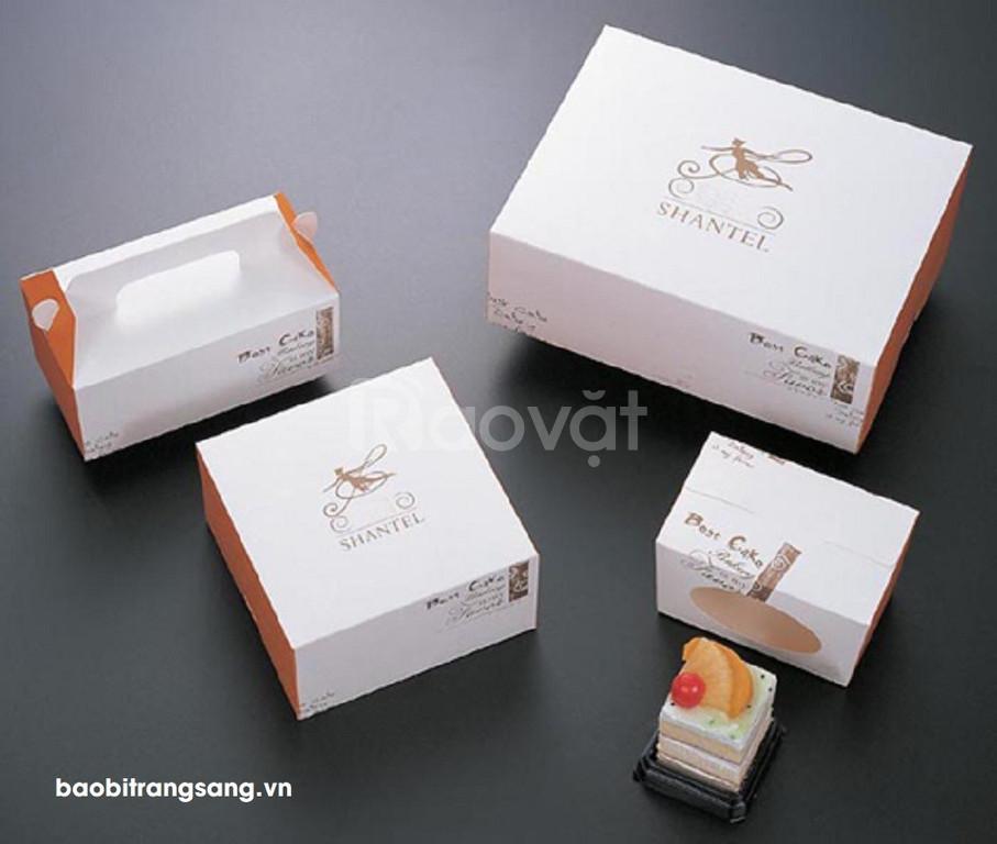 Bao bì Trang Sang - In hộp giấy đựng bánh sinh nhật số lượng ít giá rẻ (ảnh 7)