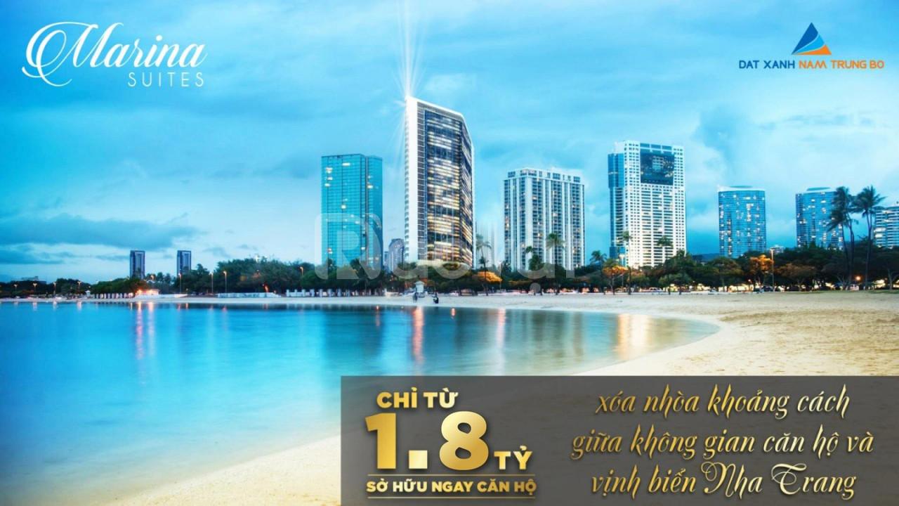 Chính chủ bán căn hộ view biển Nha Trang, chỉ 1,8 tỷ full nội thất