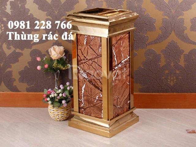 Thùng rác trang trí bằng đá hoa cương giá rẻ
