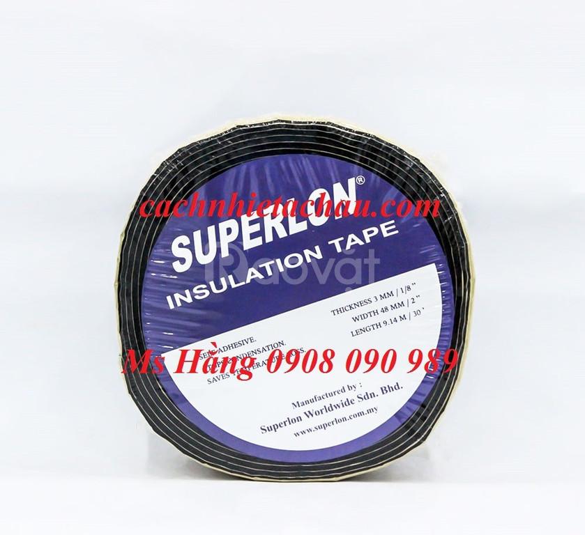 Băng keo / Roan cao su Superlon cách nhiệt lạnh