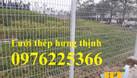Hàng rào thép, hàng rào lưới thép hàn mạ kẽm sơn tĩnh điện (ảnh 7)