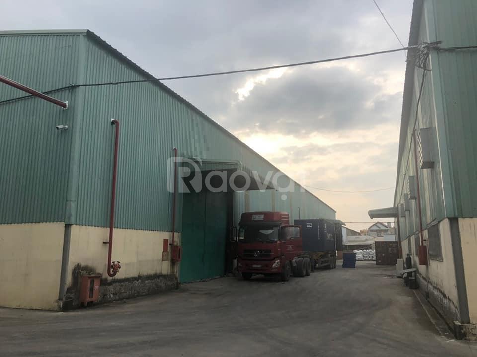 Bán nhà xưởng 1310m2 đường Nguyễn Ảnh Thủ, Quận 12, giá 13 tỷ