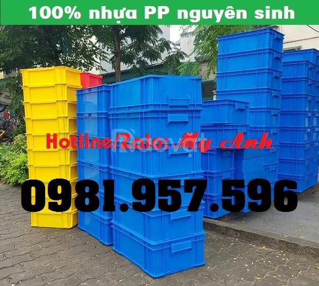 Hộp nhựa công nghiệp có nắp, hộp nhựa có nắp đủ kích thước (ảnh 5)