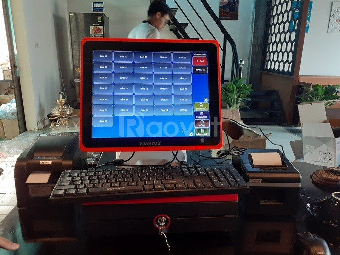 Cung cấp máy tính tiền tại Bình Thuận cho Quán Mỳ Cay