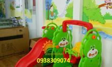 Bộ cầu trượt - xích đu cho trẻ em giá cực ưu đãi