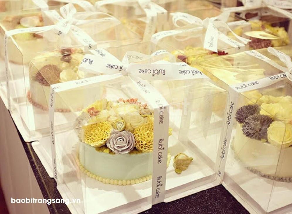Bao bì Trang Sang - In hộp giấy đựng bánh sinh nhật số lượng ít giá rẻ (ảnh 6)