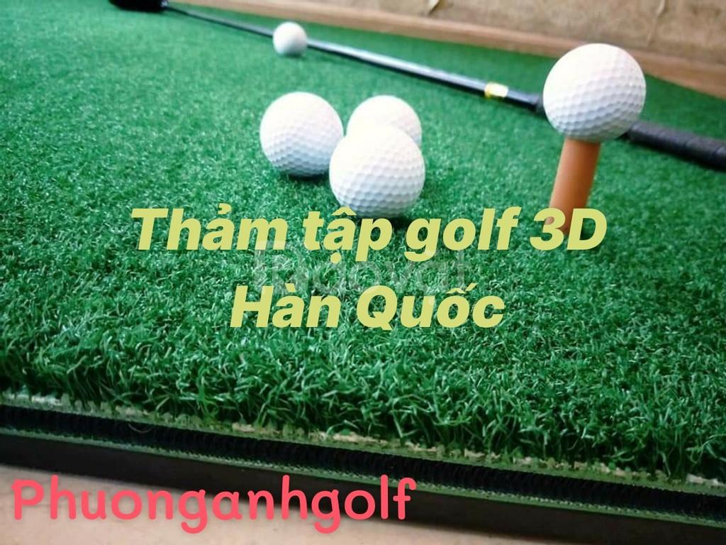 Thảm tập golf 3D Hàn Quốc