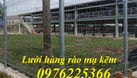 Hàng rào thép, hàng rào lưới thép hàn mạ kẽm sơn tĩnh điện (ảnh 5)