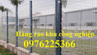 Hàng rào thép, hàng rào lưới thép hàn mạ kẽm sơn tĩnh điện (ảnh 1)