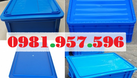 Hộp nhựa công nghiệp có nắp, hộp nhựa có nắp đủ kích thước (ảnh 6)