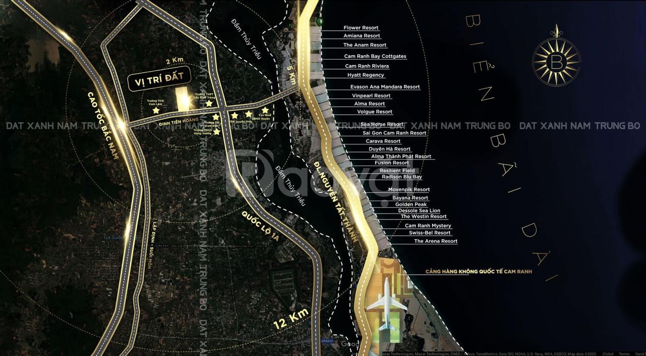 Chỉ 11tr/m2 sở hữu ngay đất nền mặt tiền Đinh Tiên Hoàng Bãi Dài