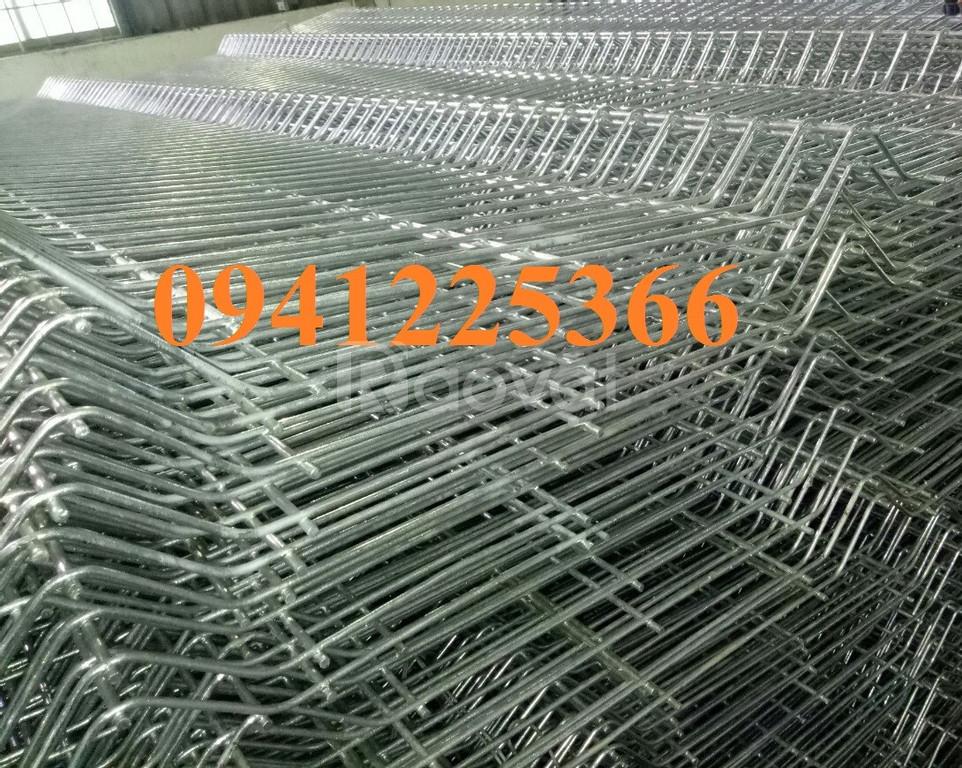 Hàng rào lưới thép mạ kẽm, lưới thép mạ kẽm