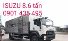 Isuzu 8.6 tấn, thùng kín 7.3m, giao xe nhanh