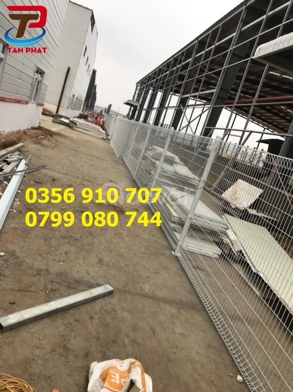 Hàng rào lưới thép, hàng rào mạ kẽm nhúng nóng D6 a50*200 (ảnh 6)
