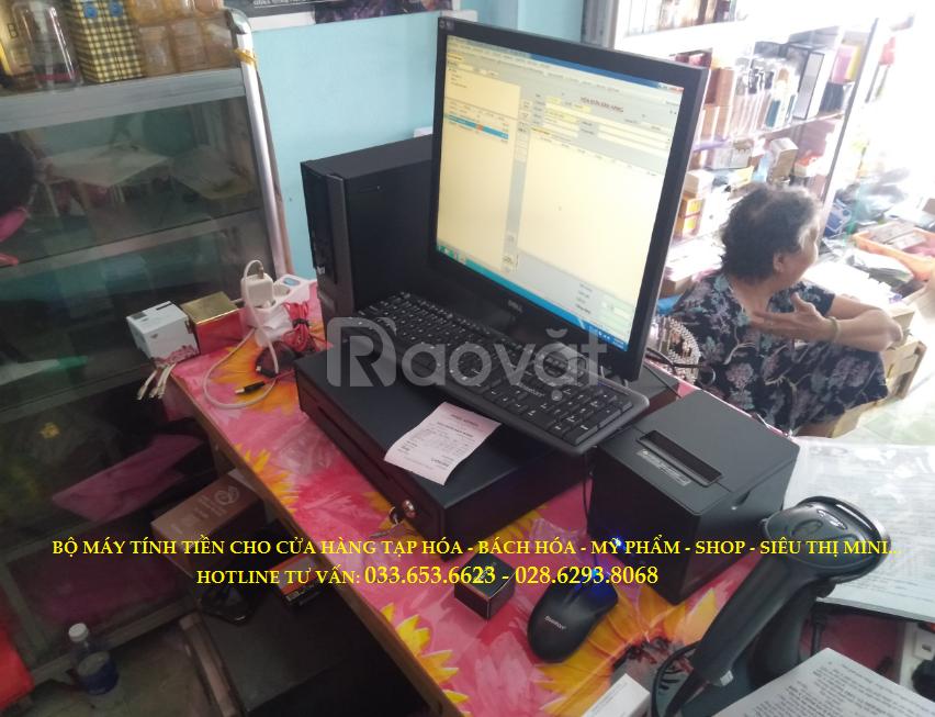 Bán máy tính tiền cho shop, siêu thị mini ở TpHCM (ảnh 1)
