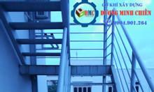 Mẫu cầu thang sắt đẹp, hiện đại mới 2020
