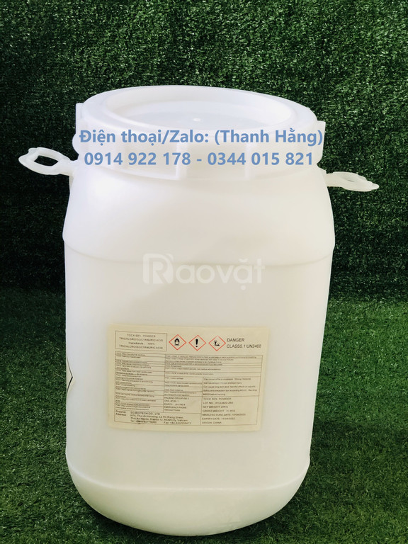 Cung cấp TCCA 90 Dạng Bột diệt khuẩn xử lý nước