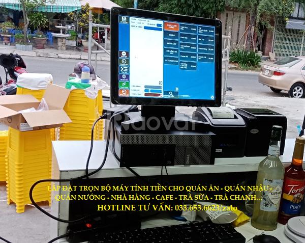 Bán máy tính tiền cho quán sữa chua, trà chanh tại Bắc Ninh (ảnh 1)