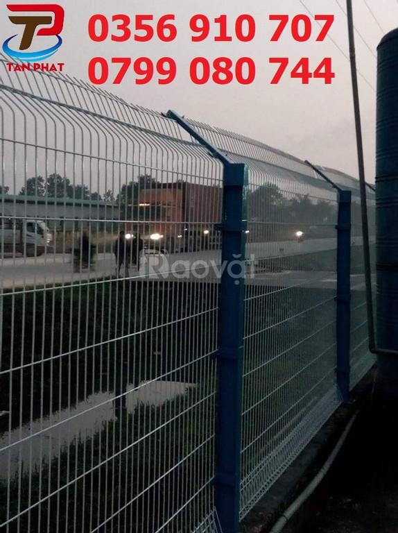 Hàng rào lưới thép, hàng rào mạ kẽm nhúng nóng D6 a50*200 (ảnh 1)