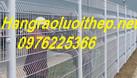 Hàng rào thép, hàng rào lưới thép hàn mạ kẽm sơn tĩnh điện (ảnh 4)