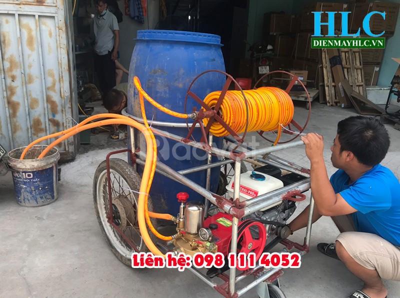 Chế tạo bộ máy phun thuốc trừ sâu tự chế từ máy rửa xe