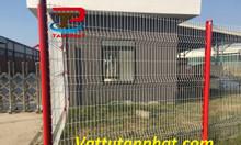 Hàng rào lưới thép, hàng rào mạ kẽm, hàng rào công ty D4,D6 giá rẻ