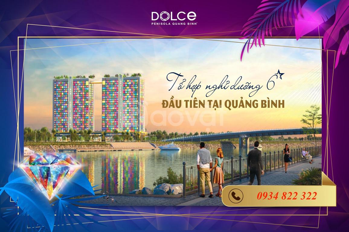 Căn hộ 6 sao dát vàng mặt biển Bảo Ninh - Quảng Bình, CK đến 23%