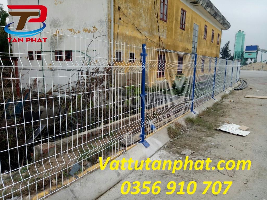 Hàng rào lưới thép, hàng rào mạ kẽm, hàng rào công ty D4,D6 giá rẻ (ảnh 6)