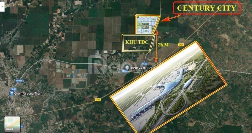 Dự án ngay sân bay Long Thành, khu tái định cư Bình Sơn (ảnh 1)