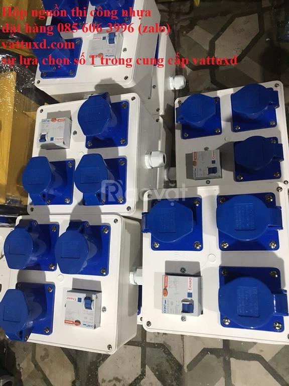 Hộp nguồn thi công táp lô điện (ảnh 6)