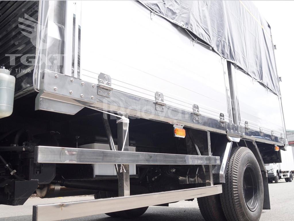 Isuzu QKR230 thùng bạt bửng nhôm, tải 1T, 1T4, 1T9, 2T4 (ảnh 5)