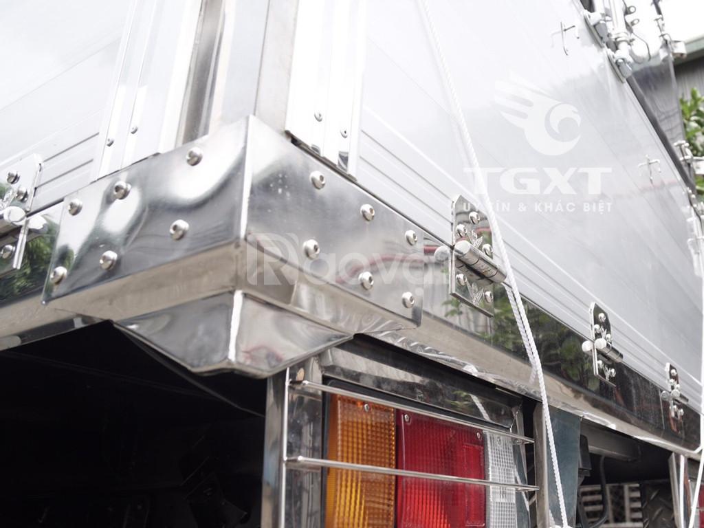 Isuzu QKR230 thùng bạt bửng nhôm, tải 1T, 1T4, 1T9, 2T4 (ảnh 3)