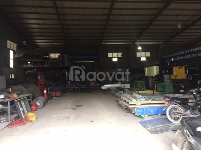 Cho thuê kho xưởng DT 600m2 KCN Từ Liêm, Hà Nội.