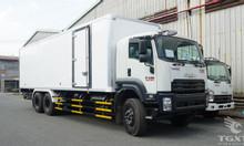Xe tải Isuzu FVM1500 thùng bảo ôn 14 tấn