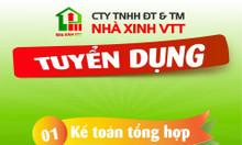 Công ty nhà xinh VTT tuyển dụng kế toán tổng hợp
