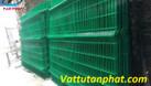 Hàng rào lưới thép, hàng rào mạ kẽm, hàng rào công ty D4,D6 giá rẻ (ảnh 2)