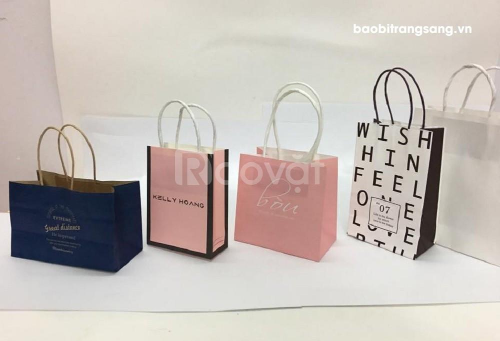 In túi giấy số lượng ít tại Bao bì Trang Sang - In nhanh chất lượng (ảnh 5)