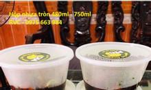 Hộp nhựa tròn đựng thực phẩm cung cấp giá sỉ tại TP.HCM