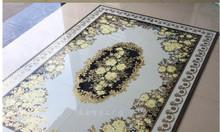 Gạch thảm, gạch trang trí phòng khách
