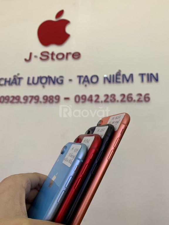 IPHONE XR bản lock 64gb đẹp keng, zin áp, pin 9x-100