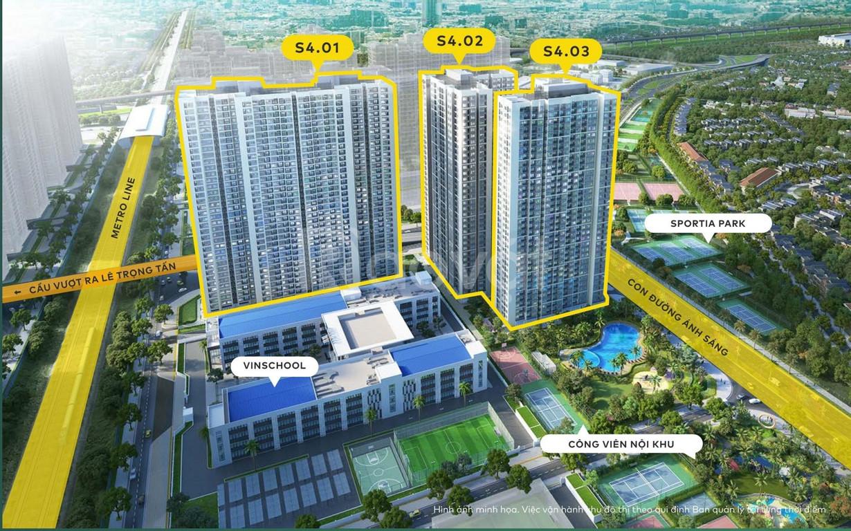 Bán căn 2PN, 2WC giá 1,803 tỷ view hồ,  Vinhomes Smart City (ảnh 1)