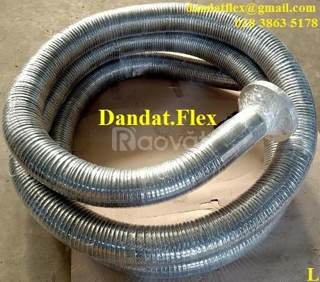 Báo giá 2307/Ống xăng dầu, Ống nối mềm xăng dầu, khớp nối mềm inox 304 (ảnh 1)