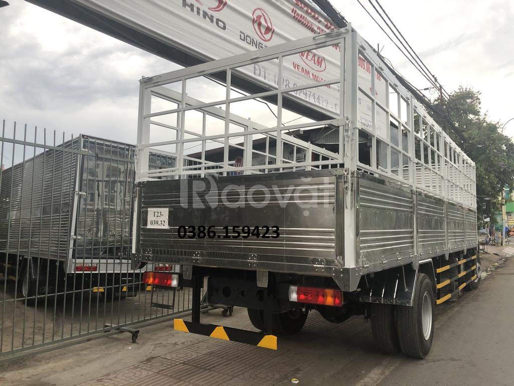 Xe tải thùng bạt dài 8m giá rẻ miền Nam | faw 8 tấn thùng dài 8m 2020