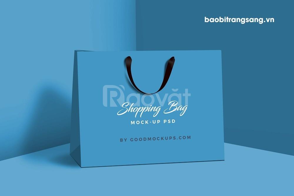 In túi giấy số lượng ít tại Bao bì Trang Sang - In nhanh chất lượng (ảnh 1)