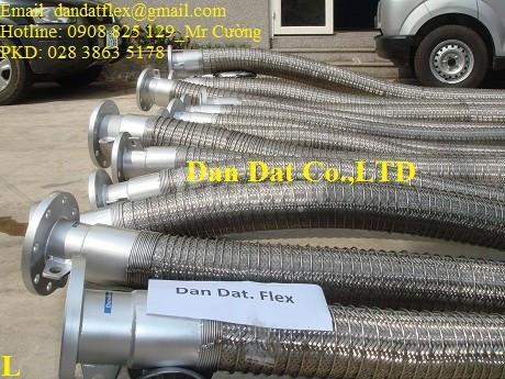 Báo giá 2307/Ống xăng dầu, Ống nối mềm xăng dầu, khớp nối mềm inox 304 (ảnh 5)