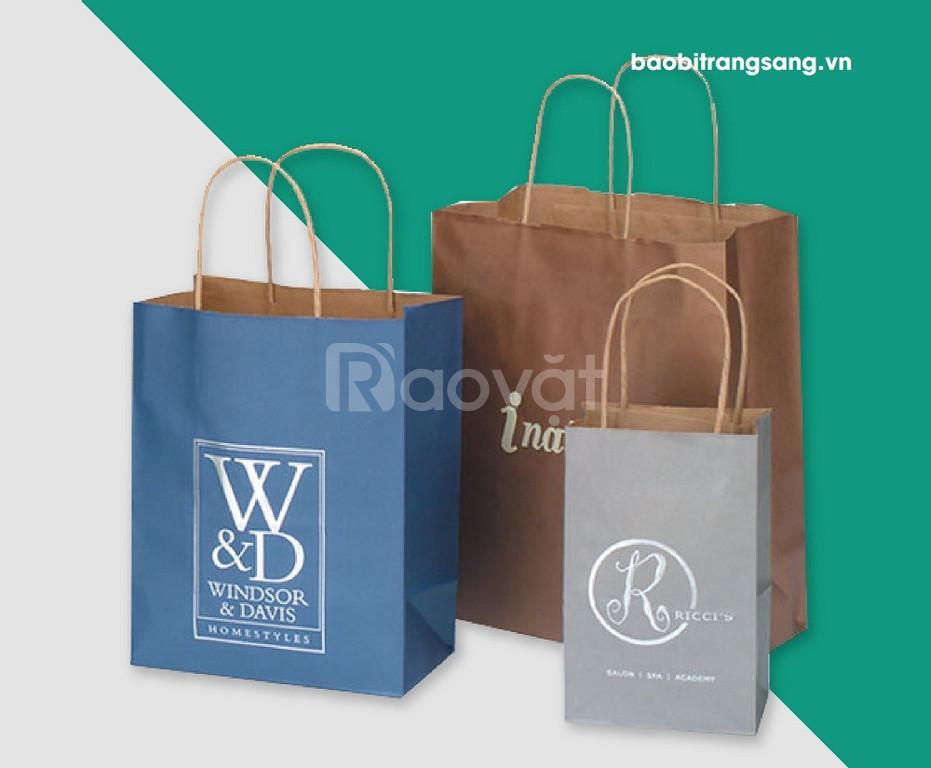 In túi giấy số lượng ít tại Bao bì Trang Sang - In nhanh chất lượng (ảnh 6)