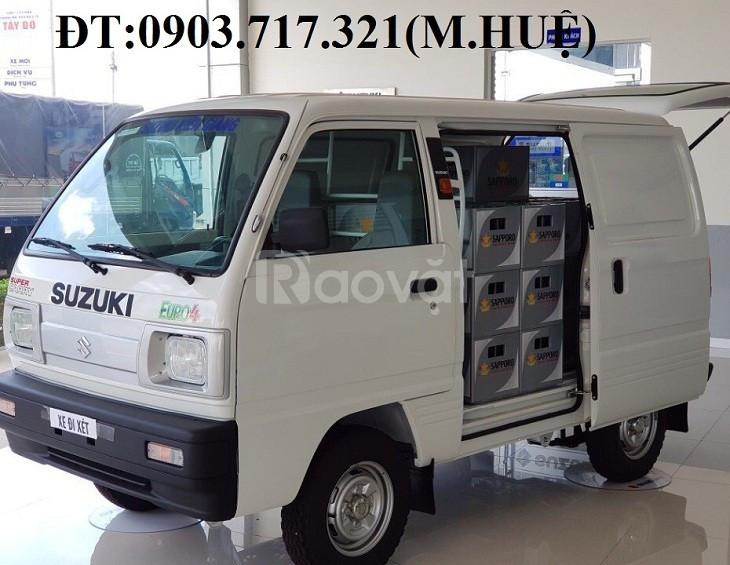 Xe tải Van Suzuki 580kg mới 2020 giá tốt  (ảnh 1)
