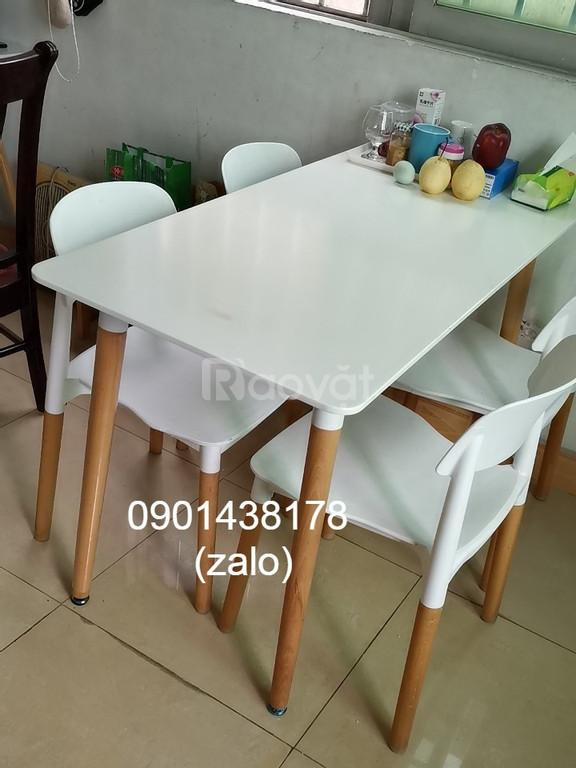 Combo bộ bàn ghế ăn gia đình, bàn ghế ăn giá rẻ